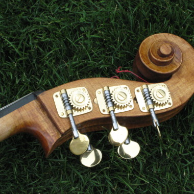 5-string bass scroll